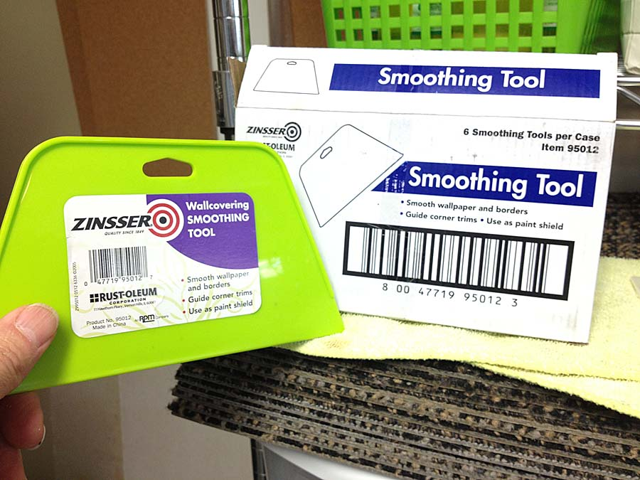 Zinsser wallcovering smoother